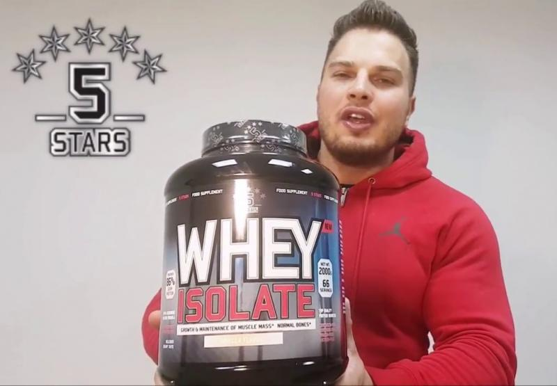 Анонс фото Обзор 5 Stars Whey Isolate