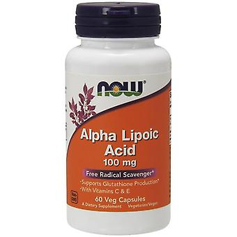 Анонс фото now alpha lipoic acid 100 mg (60 капс)