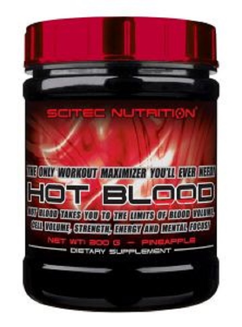 Анонс фото scitec nutrition hot blood 3.0 (300 гр) апельсин