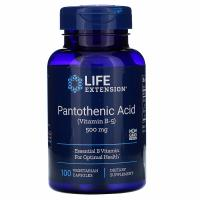 Анонс фото life extension pantothenic acid (vitamin b-5) 500 mg (100 капс)
