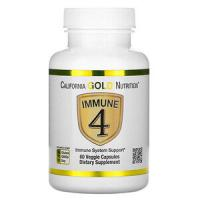 Анонс фото california gold nutrition immune4 (60 капс)