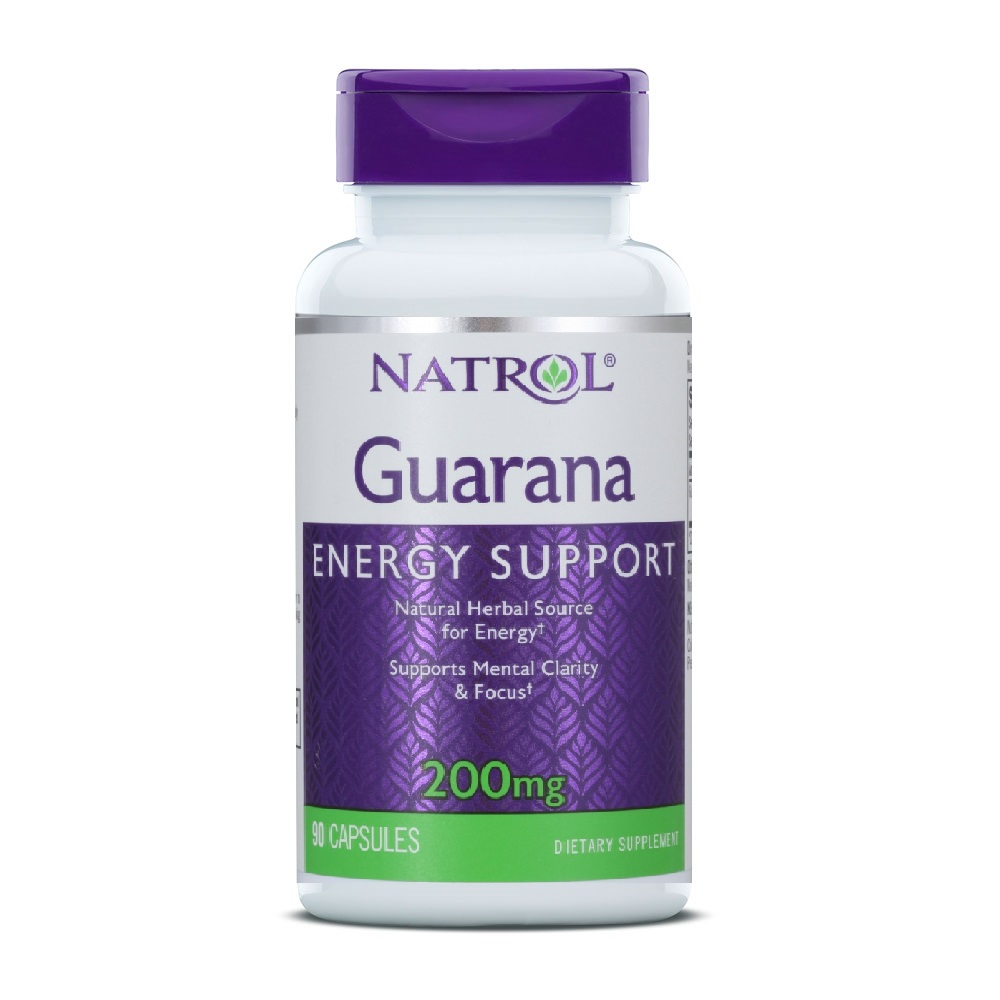 Анонс фото natrol guarana 200 mg (90 капс)