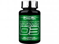 Анонс фото scitec nutrition vitamin d3 (250 капс)