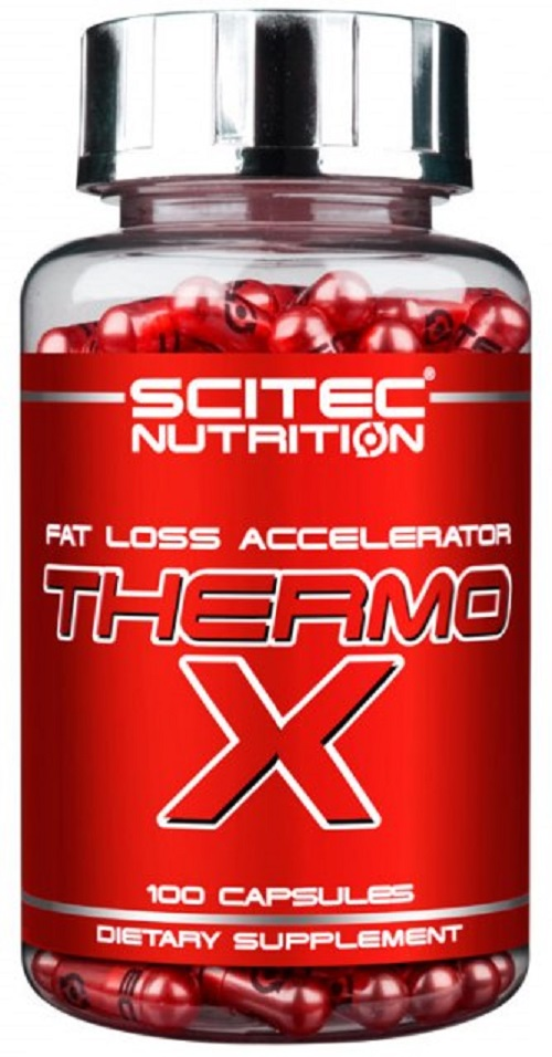 Анонс фото scitec nutrition thermo-x (100 капс)