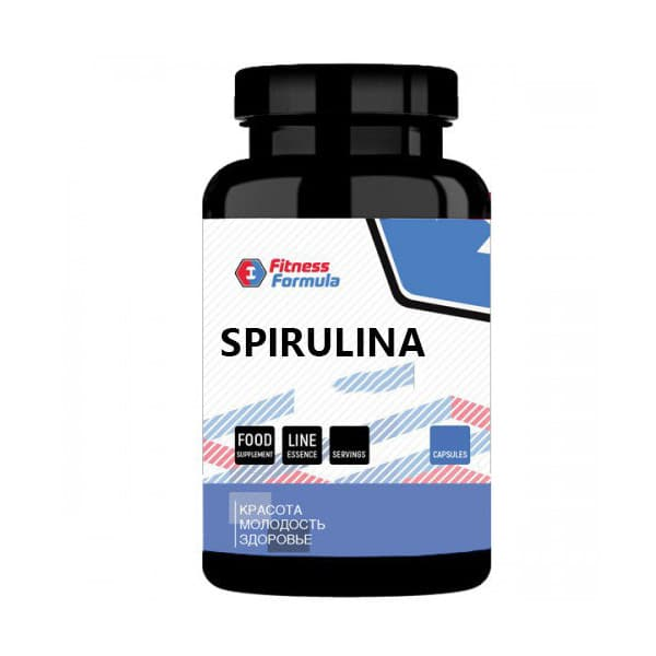 Анонс фото fitness formula spirulina pressed 500 mg (200 табл)