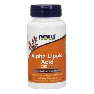 Анонс фото now alpha lipoic acid 250 mg (60 капс)