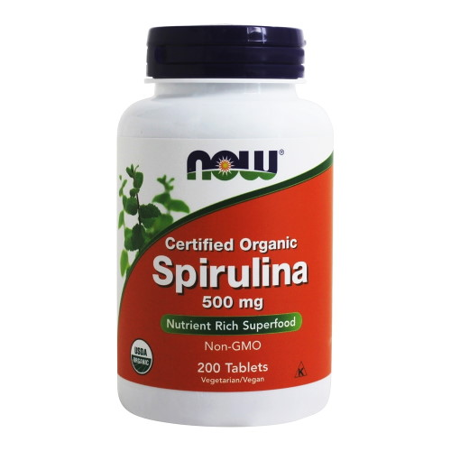 Анонс фото now spirulina 500 mg (200 tabs)