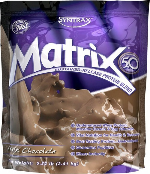 Анонс фото syntrax matrix 5.0 (2,27 кг.) молочный шоколад