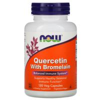 Анонс фото now quercetin with bromelain (120 капс)