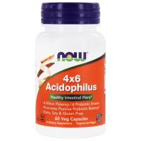 Анонс фото now 4x6 acidophilus (60 caps)