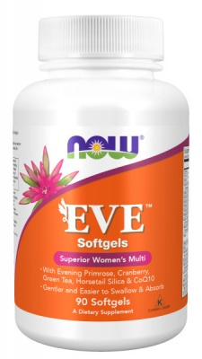 Детальное фото NOW Eve Women's Multiple Vitamin (90 softgels)