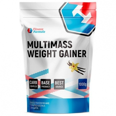 Детальное фото Fitness Formula Multimass Weight Gainer (1000 гр) Ваниль