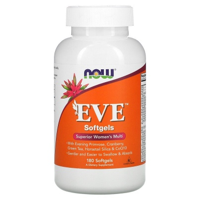 Детальное фото NOW Eve Women's Multiple Vitamin (180 табл)