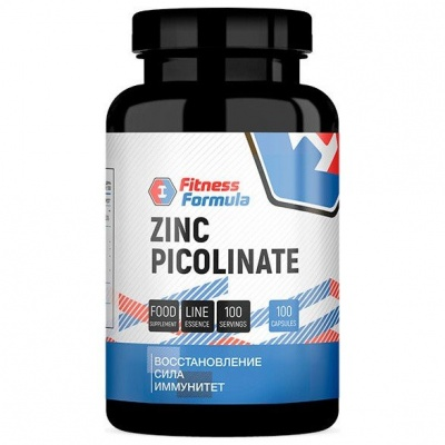 Детальное фото Fitness Formula Zinc Picolinate 125 mg (100 капс)