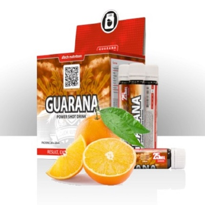 Анонс фото atech guarana power shot drink (1 амп/25 мл) гуарана