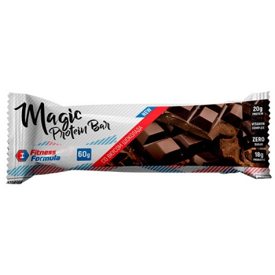 Детальное фото Fitness Formula Magic Protein Bar (60 гр) Шоколад