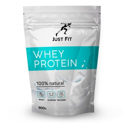 Детальное фото Just Fit Whey Protein (900 гр) Лесная ягода АП